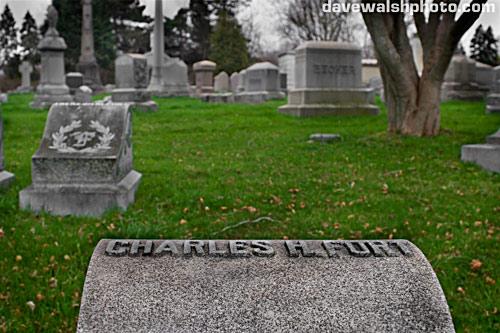 Charles Fort Grave, Albany Rural Cemetery forteana fortean strange phenomena paranormal