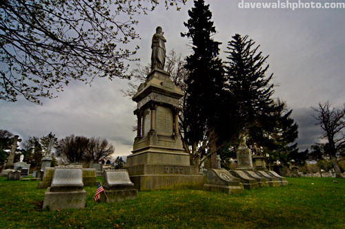 Charles Fort Grave, Albany Rural Cemetery forteana fortean strange phenomena paranormal