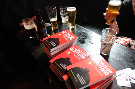 A Load of Blather launch - books on table