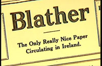 Blather: The Only Really Nice Paper Circulating in Ireland