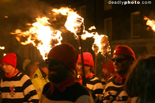 Bonfire, fireworks and Guy Fawkes night, Lewes