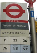 Next stop, Temple of Mithras?