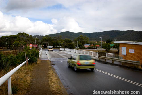 The Denison Canal Bridge, Dunally, Tasmania