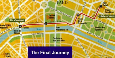 The Final Journey Through Paris - click to enlarge