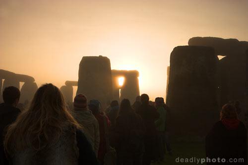 Stonehenge Solstice 2005