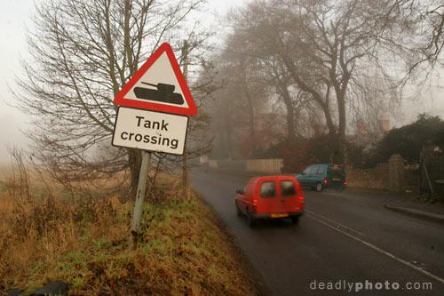 Salisbury Plain: Tank Crossing